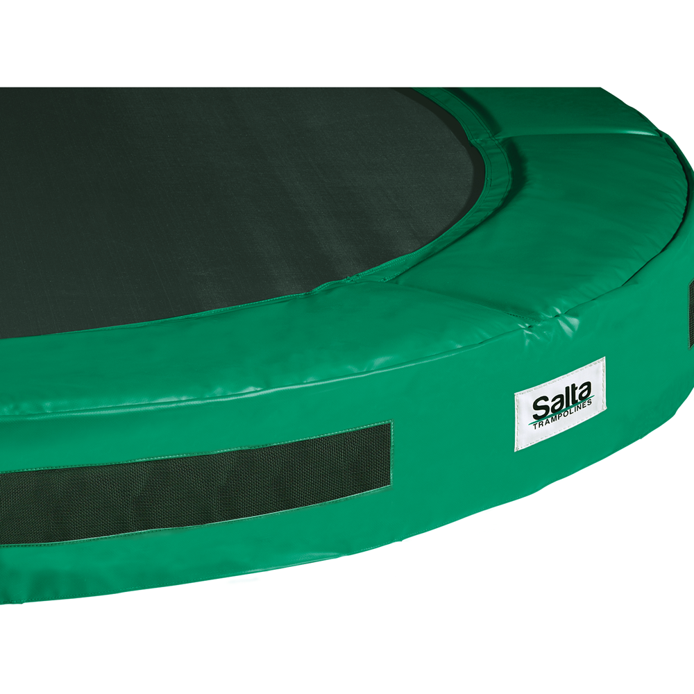 salta excellent ground ingraaf trampoline groen 183 - 213 - 244 - 251 - 305 - 366 - 427 cm